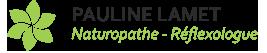 Pauline Lamet: Naturopathe – Réflexologie plantaire Mobile Logo